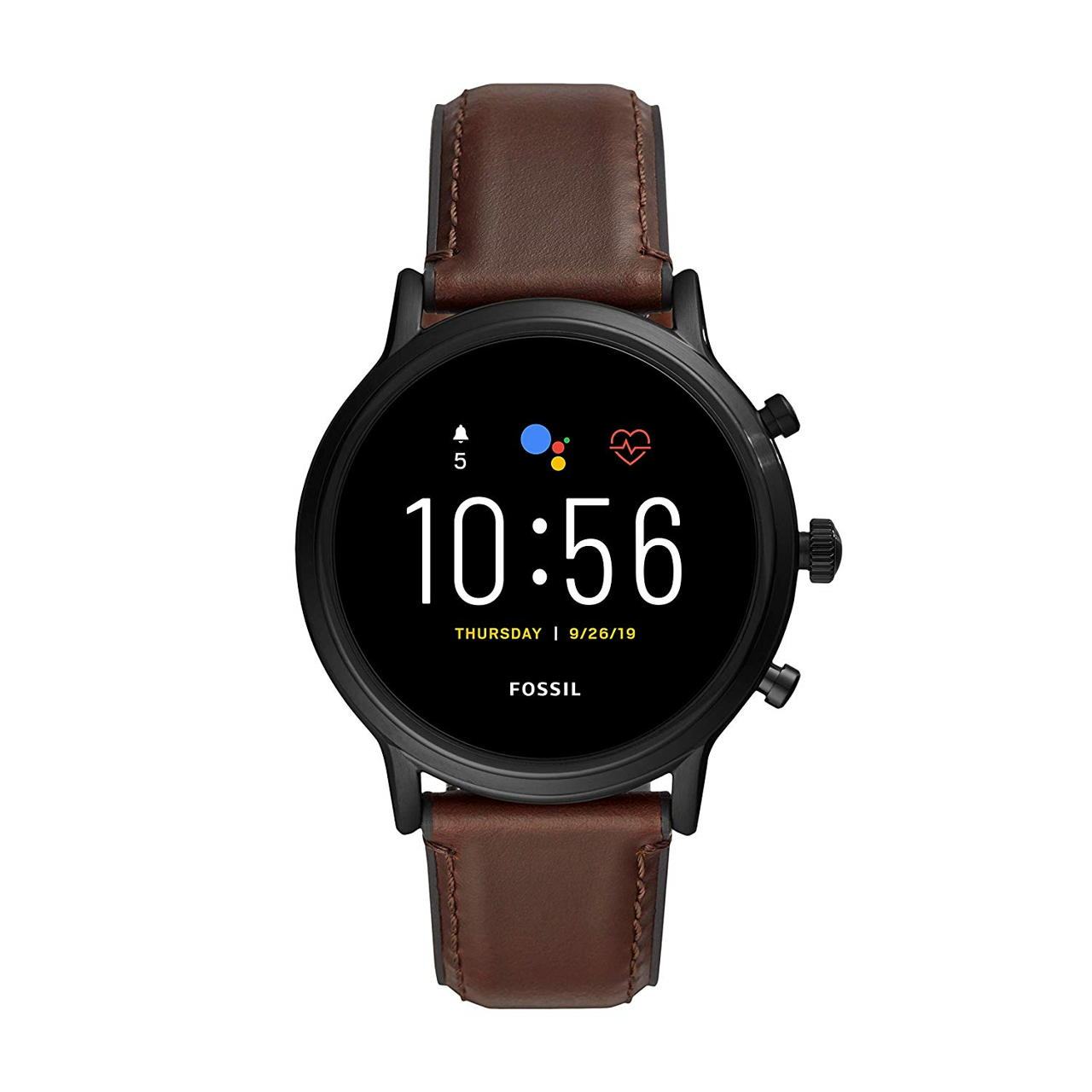 Fossil Gen 5 Carlyle Touchscreen Smartwatch with Speaker, Heart Rate, GPS and Smartphone Notifications - FTW4026