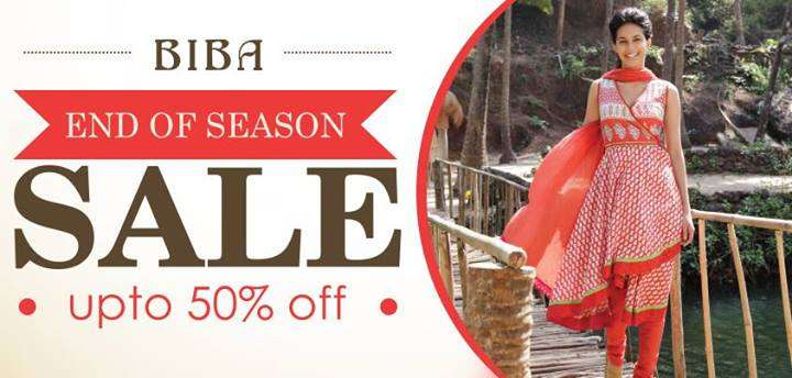Biba End Of Season Sale Upto 50 Off Deals Sales