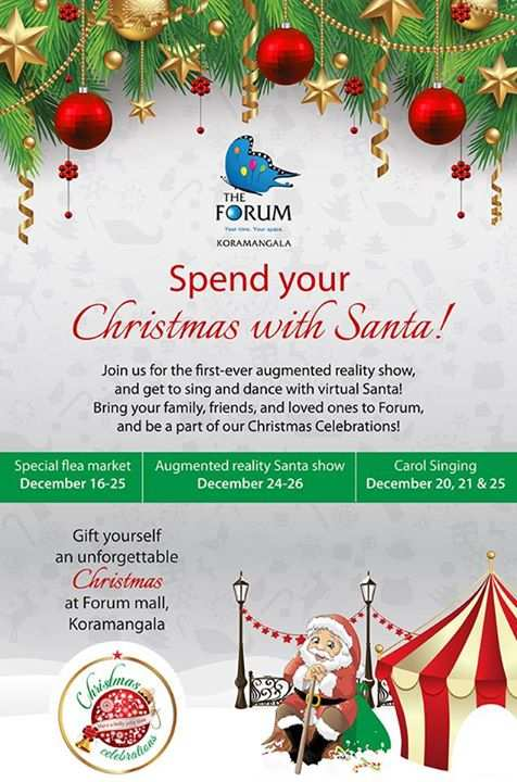 events in bangalore christmas celebrations at forum mall koramangala from 16 to 25 december 2014 - Christmas Forum
