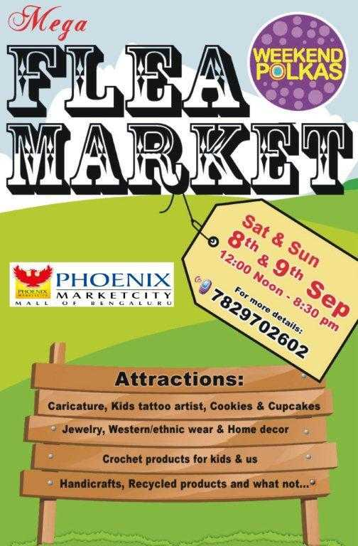 Mega Flea Market on 8 and 9 September 2012 at Phoenix Marketcity