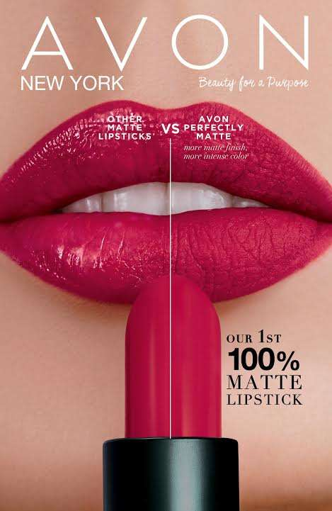 Introducing AVON True Colour Perfectly Matte Lipstick ...