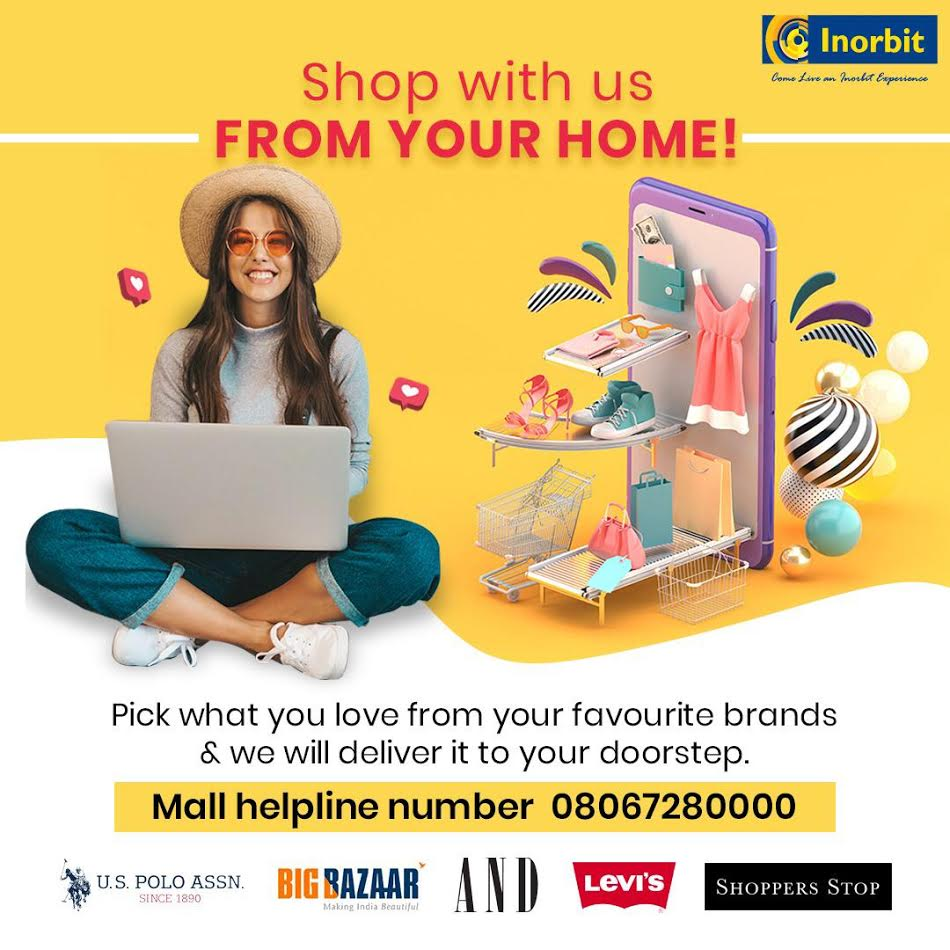 Inorbit Mall Whitefield introduces Video shopping and Curb side pick-ups to enable hassle free shopping for consumers