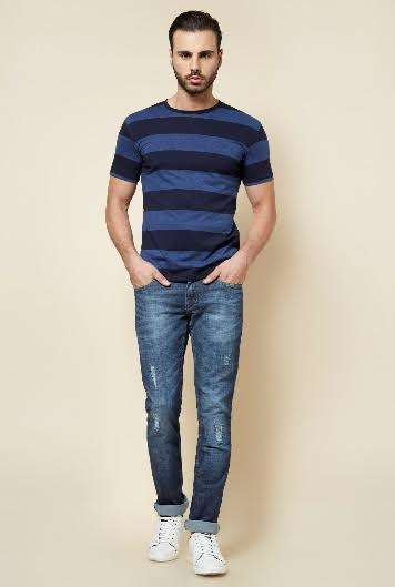 Zudio Denims and Navy Blues : New Years Part Wear for Men