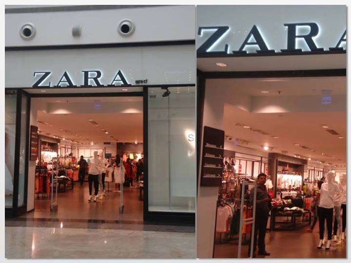 zara stores outlets restaurants in orion mall malleswaram bangalore bengaluru. Black Bedroom Furniture Sets. Home Design Ideas
