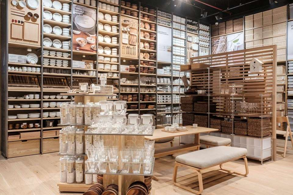 muji stores outlets restaurants in vr bengaluru bangalore bengaluru. Black Bedroom Furniture Sets. Home Design Ideas