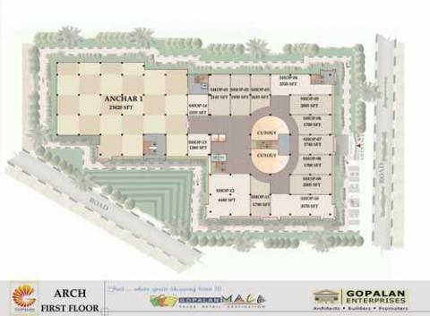 Gopalan Arch Shopping Mall Mysore Road | Shopping Malls in