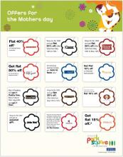 Offers for Mother's Day from 10 to 12 May 2013 at Ascendas Park Square, Whitefield, Bangalore