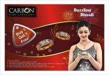 Dazzling Diwali Offer Buy 1 Get 1 Free at CARBON - Fine Jewellery