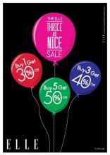 ELLE Thrice as Nice Sale