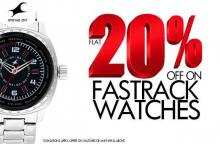 Get Flat 20% off on Fastrack Watches until 18 November 2012 in Bangalore, Bengaluru
