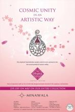 25% off on MRP on the entire jewellery collection at Minawala. Offer ends 31st October 2013