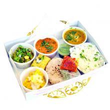 100% pure vegetarian Rajasthani / Gujarati Cuisine at Panchavati Gaurav, Garuda Mall at up to 20% off this October 2013.