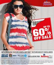 Reliance Trends - Upto 60% off Sale