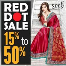 Deals in Bangalore - Soch Red Dot Sale - 15 to 50% off from 1 to 30 June 2013 at Bangalore & Mysore Stores
