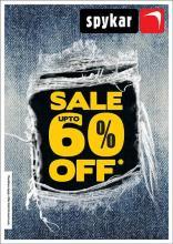 Spykar End of Season Sale, Upto 60% off