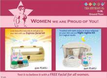 The Nature's Co, Phoenix Marketcity, Mahadevapura, Bangalore, Free Facials, Discounts, Express Facial Kit, Night Regime Kit, 1 to 10 March 2013, Deals, Offers