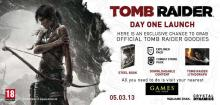 5th March 2013, Tomb Raider, Launch Day Exclusive offer , Games The Shop