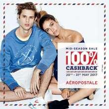 Aeropostale Mid-Season Sale - 100% cashback