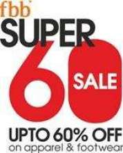 With fbb's Super 60% Sale, look your best in latest fashion, this New Year!