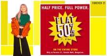 The BIG FLAT 50% SALE at Bengaluru!  Garuda Mall, 7th - 9th December 2018