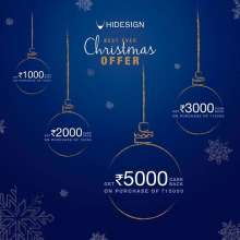 Hidesign Christmas Offer  until 20th December 2019
