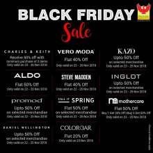 Black Friday Sale at Phoenix Marketcity Bangalore  22nd - 26th November 2018