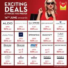 Exciting Deals at Prices you prefer at Phoenix Marketcity Bengaluru