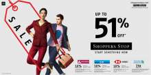 Get Holiday Ready with Shoppers Stop up to 51% Off Sale