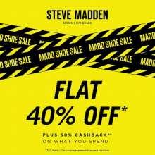 Steve Madden Madd Shoe Sale at Phoenix Marketcity Bangalore  21st - 24th November 2019