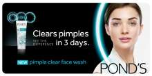 Amy Jackson is the new face for Pond's Pimple Clear Face Wash