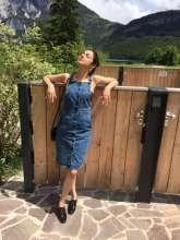 Divya Khosla Kumar wearing Shillpa Purii Designer Jewellery while holidaying in Austria